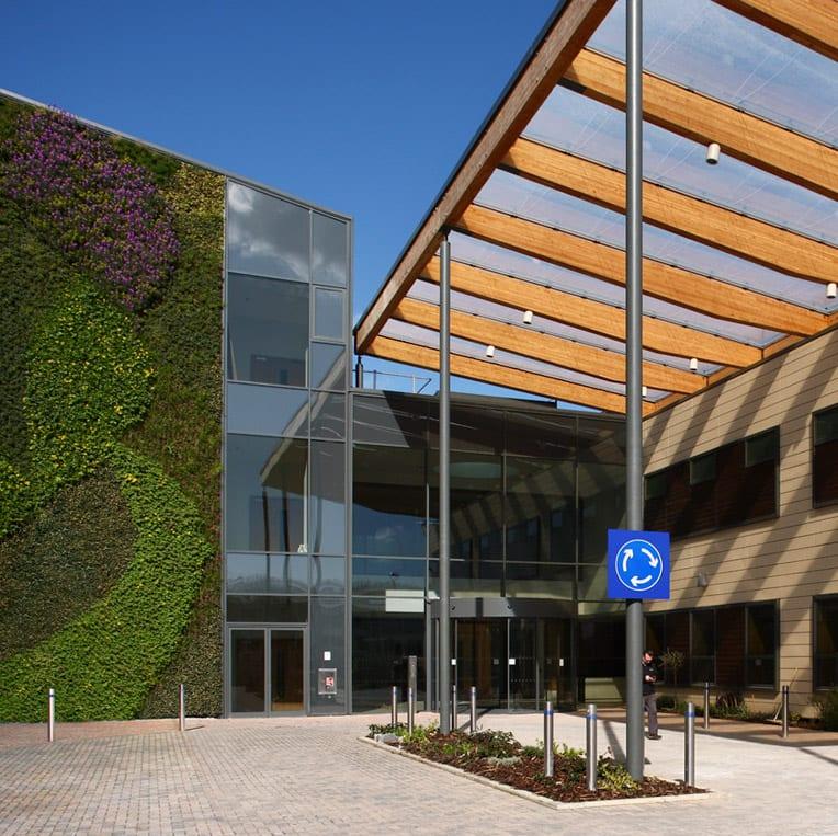 KIMS Hospital front Entrance copy